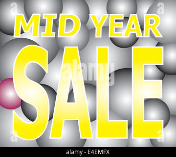 Vector of Sale on Light Two Tone Ball Festival. - Stock Photo