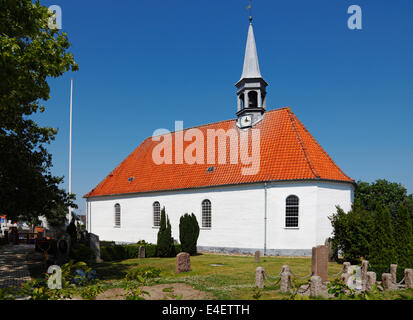 Gilleleje Church, North Zealand, Denmark - Stock Photo