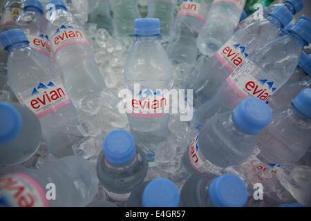 Evian water - Stock Photo