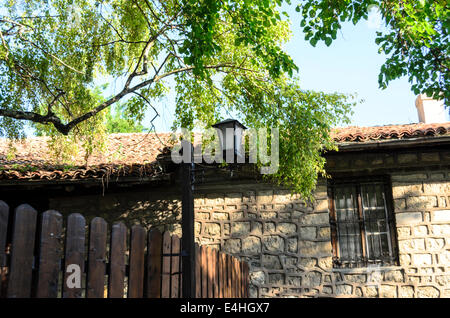 View of the Bulgarian Revival house Provadia located at the foot of Varna - Stock Photo