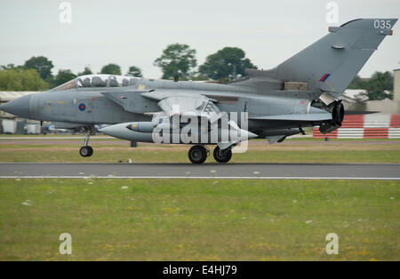 RAF Fairford, Gloucestershire UK. 11th July 2014. Fast jets on display at the first day of RIAT. Royal Air Force - Stock Photo