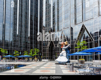 PPG Place in downtown Pittsburgh, Pennsylvania, USA - Stock Photo