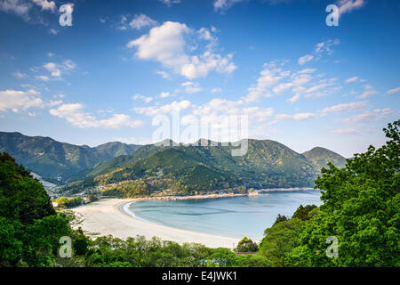 Atashika Beach in Kumano City, Mie Prefecture, Japan.