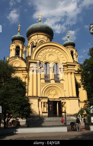 Metropolitan Council of the Holy Equal to the Apostles of Mary Magdalene which is a Polish Orthodox Cathedral in - Stock Photo