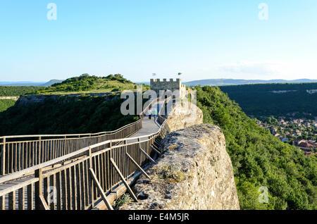 Wooden Bridge With Rock near Provadia - Stock Photo