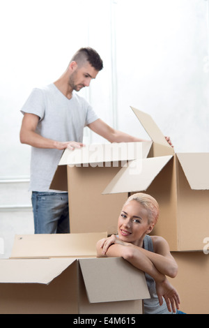 Removal is not easy thing - Stock Photo