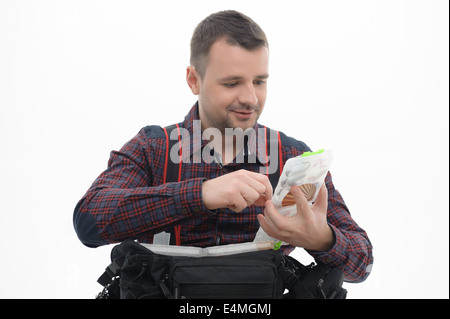 Fishing is always pleasure - Stock Photo