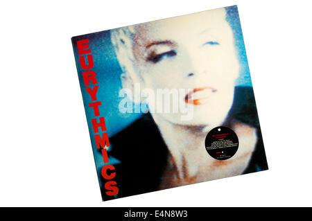 Be Yourself Tonight was the fourth studio album by the British pop duo Eurythmics, released in 1985. - Stock Photo