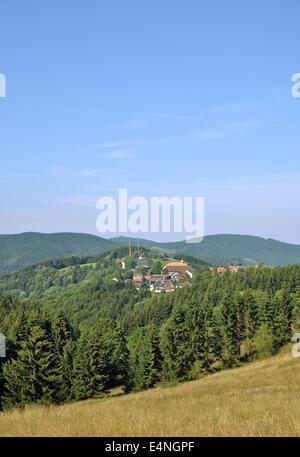 St. Andreasberg,Harz Mountains,Germany - Stock Photo