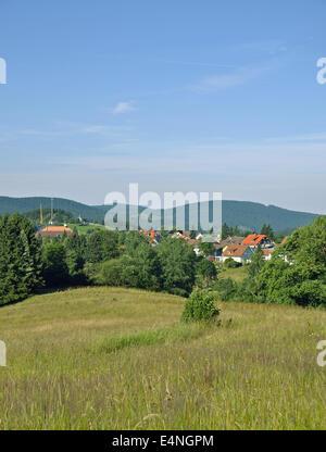 St. Andreasberg,Harz Mountain,Germany - Stock Photo