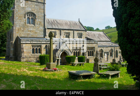 Burnsall Church, Wharfedale, Yorkshire Dales National Park, North Yorkshire, EnglandUK