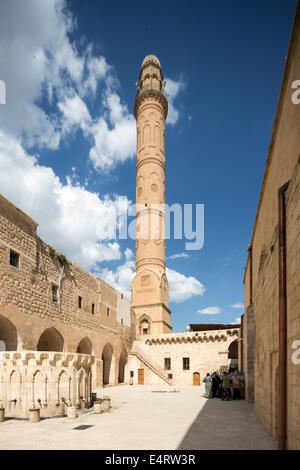 Great mosque or Ulu Cami, Mardin, Anatolia, Turkey - Stock Photo