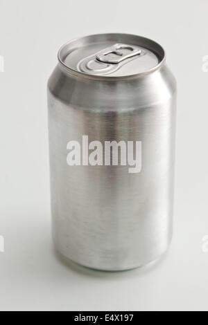 Aluminium closed can - Stock Photo