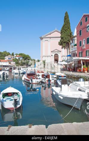 Veli Losinj,Losinj Island,Croatia - Stock Photo
