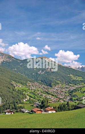 Ortisei or St.Ulrich,Gardena Valley,Italy - Stock Photo