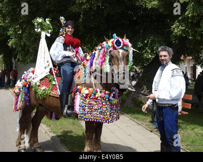 folklore festival - Ride of the Kings - Stock Photo