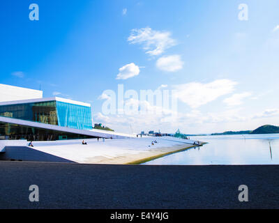 Opera house Oslo, Norway - Stock Photo