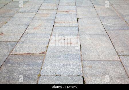 Gray tile sidewalk texture background