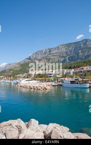 Tucepi,Makarska Riviera,Croatia - Stock Photo