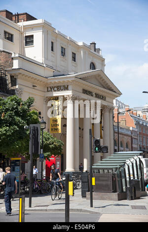The Lyceum Theatre close to Covent Garden central London UK - Stock Photo