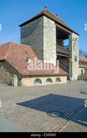 German Wine Gate at German Wine Route - Stock Photo