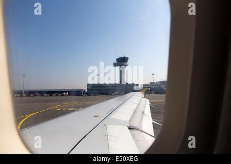 Bordeaux Airport Aquitaine France - Stock Photo