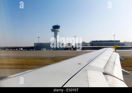 Bordeaux Airport Aquitaine France - Stock Photo