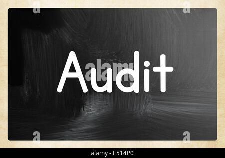 audit concept - Stock Photo