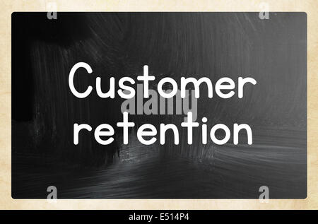 customer retention concept - Stock Photo