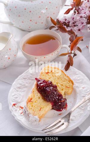 Saffron Easter Babka - Stock Photo