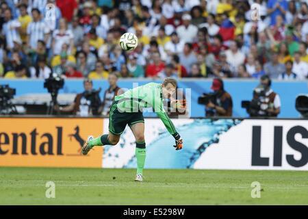 Manuel Neuer (GER), JULY 13, 2014 - Football / Soccer : FIFA World Cup Brazil 2014 Final match  between Germany - Stock Photo