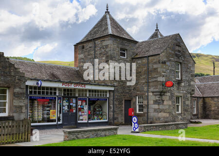 Village Post Office in traditional stone building. Blair Atholl, Perth and Kinross, Scotland, UK, Britain - Stock Photo