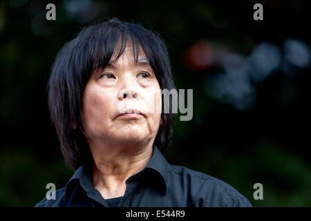 SHUSAKU TAKEUCHI, Japan choreographer, dramaturg. During the performance Package Prague - Stock Photo
