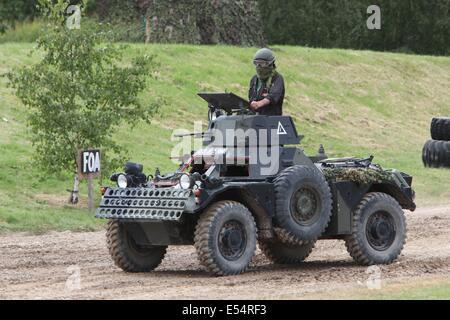 Ferret MkII Scout Car - bovington - Stock Photo