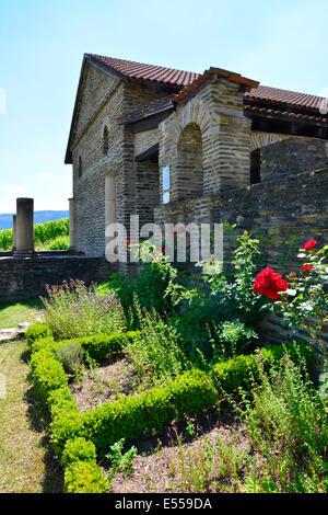Roman Villa Urbana Longuich Moselle Germany Römische Weinstrasse Mosel vine route Rhineland-Palatinate Schweich estate house