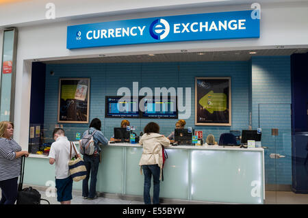 Money Exchange Counter Stock Photo Royalty Free Image 59422260 Alamy