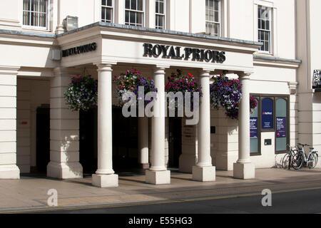The Royal Priors shopping centre, Leamington Spa, Warwickshire, England, UK - Stock Photo