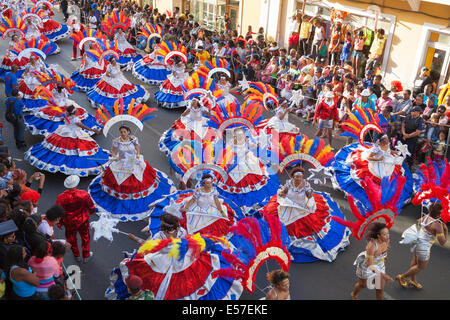 Karneval Mindelo 2014 - Stock Photo