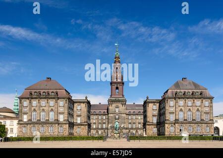 Christiansborg Palace, Copenhagen, Denmark - Stock Photo