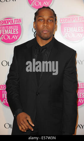 London, UK, UK. 11th Nov, 2009. Lemar attends the Cosmopolitan Ultimate Women Of The Year Awards at Banqueting House. - Stock Photo