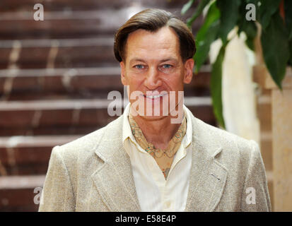 austrian actor tobias moretti as luis trenker poses during the stock photo 72099369 alamy