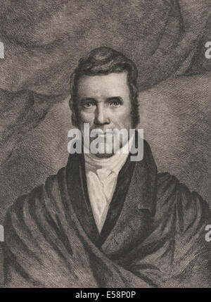 Chief Justice John Marshall, Chief Justice of the USA Supreme Court 1801-1835 - Stock Photo