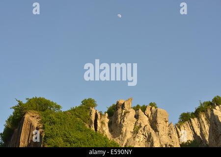 Landscape near the village of Lahic, Caucasus Mountains, Azerbaijan - Stock Photo