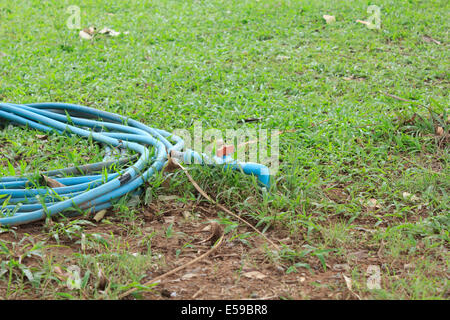 Water supply pipes - Stock Photo