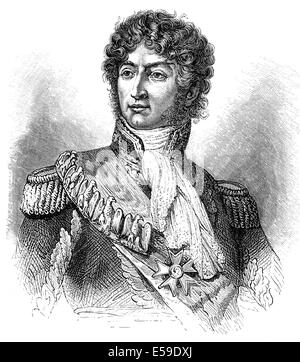 Joachim-Napoléon Murat, 1767 - 1815, Marshal of France, King of Naples, - Stock Photo