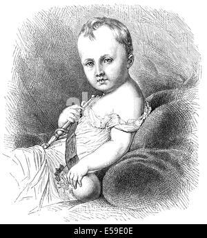 Napoléon François Charles Joseph Bonaparte, 1811-1832, Prince Imperial, King of Rome, Prince of Parma, Franz, Duke - Stock Photo