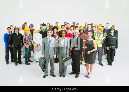 Diverse workforce - Stock Photo