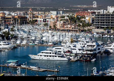 Marina Cabo San Lucas, Mexico. - Stock Photo
