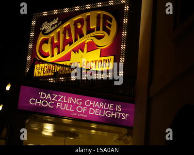 Charlie and the Chocolate factory, The Theatre Royal, Drury Lane, - Stock Photo