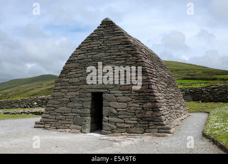 Gallarus Oratory, early Christian church, Dingle Peninsula, County Kerry, Ireland - Stock Photo